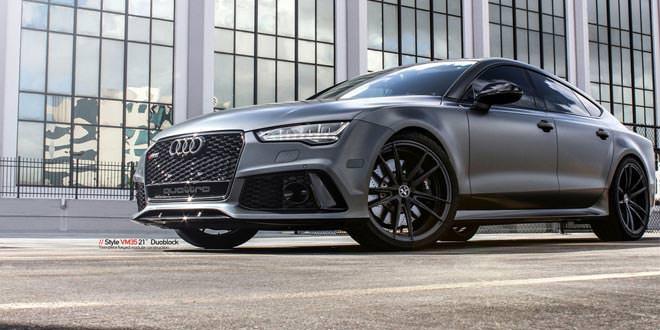 Audi RS7 переобули в диски от Vellano Wheels