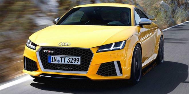 Новую Audi TT RS оснастят 395-сильным двигателем