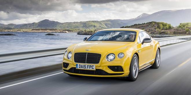 Компания Bentley продала в 2015 году более 10 000 автомобилей