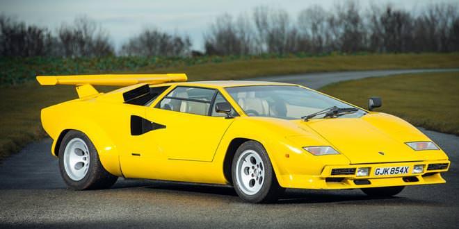 Уникальный Lamborghini Countach 1981 года уйдет с молотка