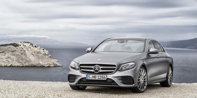 Виртуальная премьера Mercedes-Benz E-Class пятого поколения