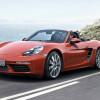 Родстер Porsche Boxster перешел в новое поколение