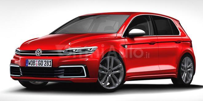 Любительский рендер Volkswagen Golf VIII