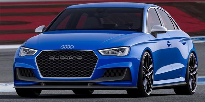 Седан Audi RS3 утверждён к производству