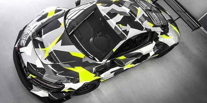 Audi R8 GT3 LMS в виниле Urban Camo Wrap