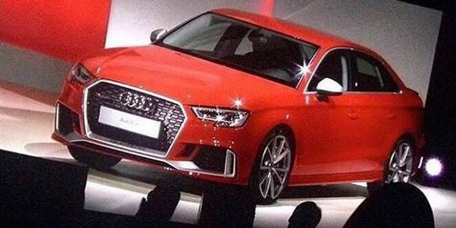 Состоялся закрытый показ Audi RS3 Sedan