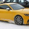 Новая Audi TT RS на шпионских снимках