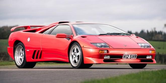 С аукциона продадут Lamborghini Diablo SV 1999 года