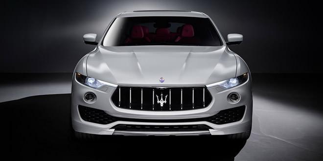 Зовнішність Maserati Levante повністю розкрита