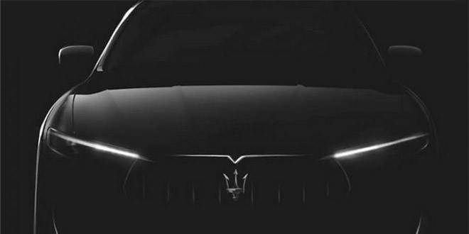 Maserati везе в Женеву серійний кросовер Levante