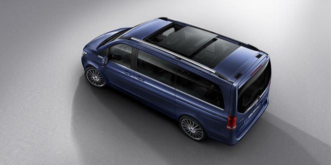 Mercedes-Benz V-Class получил версию Exclusive