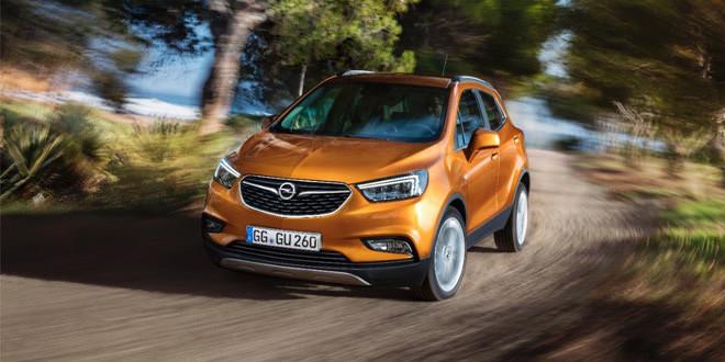 Обновленный Opel Mokka покажут в Женеве