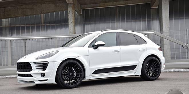 Hamann Porsche Macan выглядит блестяще в белом