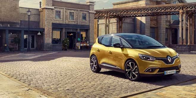 Вышло новое поколение компактвэна Renault Scenic