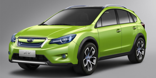 Subaru везет в Женеву новый концепт