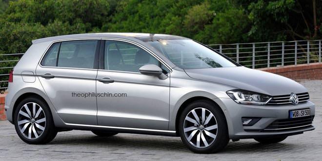 Любительский рендер VW Golf VIII