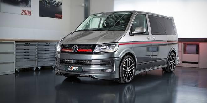 Подготовлен юбилейный Volkswagen Multivan от ABT Sportsline
