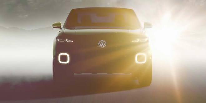 Volkswagen анонсировал к Женеве концептуальный кроссовер