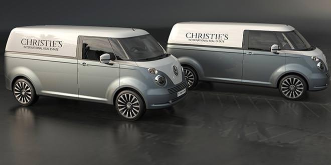 Volkswagen T1 на новый лад от независимого дизайнера