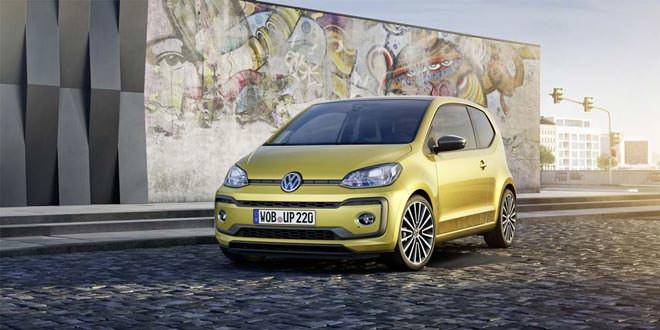 Городской «малыш» Volkswagen Up! обновился