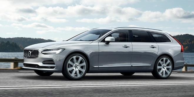 Универсал Volvo V90 предстал во всей красе