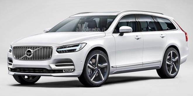 Volvo готовится к премьере универсала V90