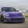 Vorsteiner Porsche 991 GT3 RS фиолетового оттенка