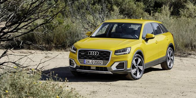 Audi выпустила кроссовер Q2