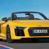 В Нью-Йорке представлена новая Audi R8 Spyder