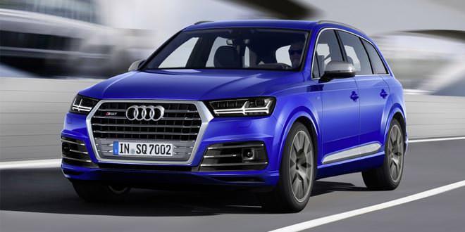 Audi SQ7 выйдет к 2016 году