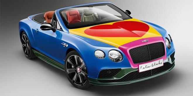 Арт-кар Bentley Continental GT от Питера Блэйка