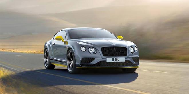 Самый быстрый Bentley Continental GT Speed пережил модернизацию