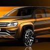 Опубликованы фото рестайлинг Volkswagen Amarok 2016