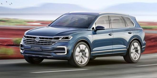 Представлен новый большой кроссовер Volkswagen (64 фото)