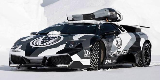 Джон Олсон пересел на Lamborghini Murcielago SV