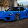 Фото Porsche 918 Spyder на дисках HRE P101