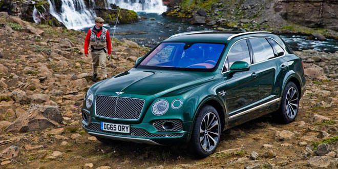 Ателье Mulliner поработало над Bentley Bentayga
