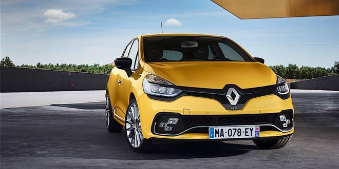 Вышел обновленный хот-хэтч Renault Clio R.S.