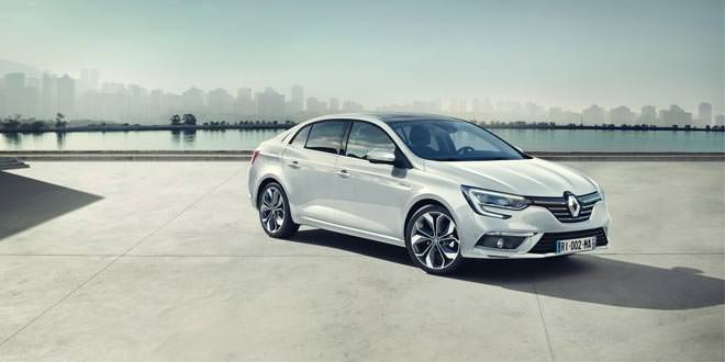 Вышел новый седан Renault Megane