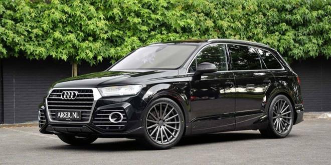 ABT Audi QS7 примерила 22-дюймовые катки Vossen VFS2
