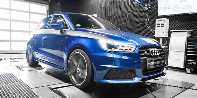 В Mcchip-DKR подготовили тюнинг для Audi S1