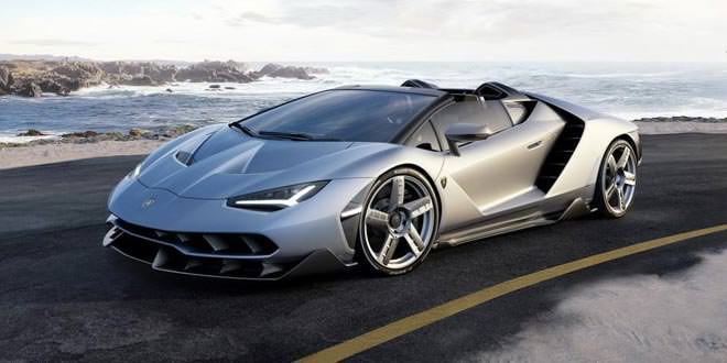 Вышел открытый Lamborghini Centenario Roadster