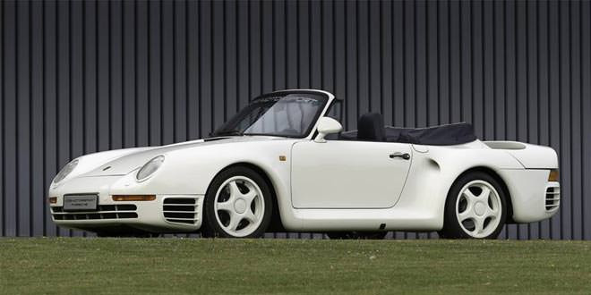 Уникальный Porsche 959 Cabriolet ищет нового владельца
