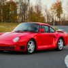 На аукционе Mecum продадут редкое купе Porsche 959 1987 года