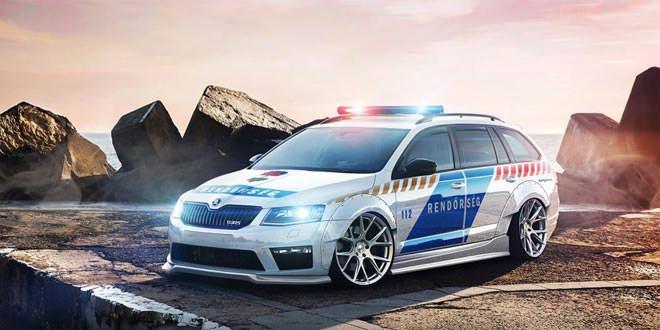 Если бы Skoda Octavia vRS Combi взяли на службу полиции