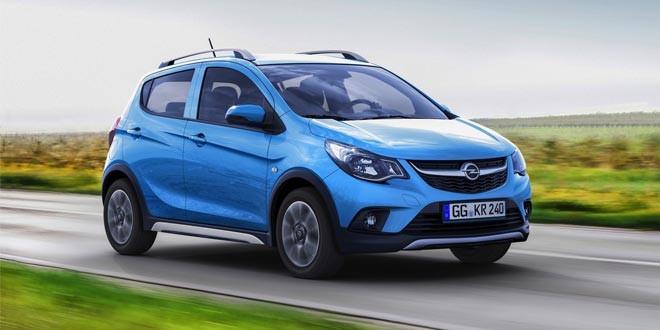 Подготовлен вседорожный хэтчбек Opel Karl Rocks