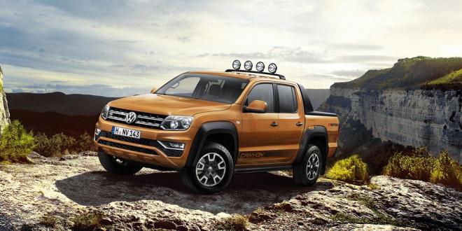 Новый пикап Volkswagen Amarok получил спецверсию и новый двигатель