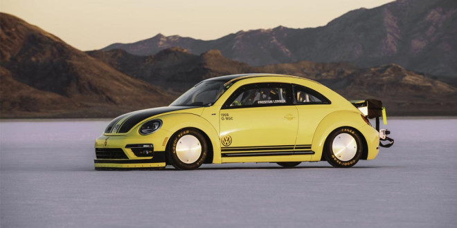 Самый быстрый Volkswagen Beetle разогнали до 328 км/ч