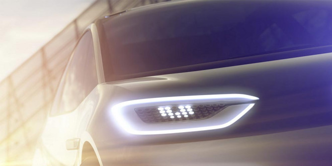 Volkswagen покажет в Париже новый электрический концепт