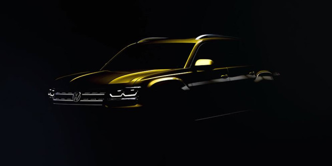 Семимісний кросовер Volkswagen Atlas розкриває секрети